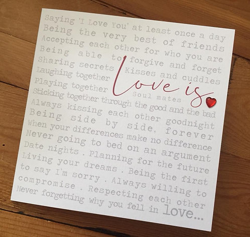 Love is Card