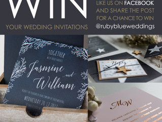 Win your wedding invitations!