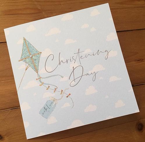 Christening Kite Card