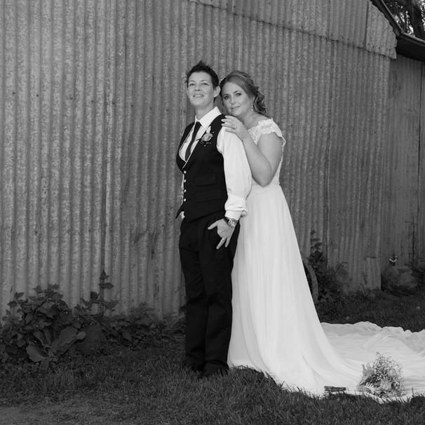 Same sex Ballarat Wedding Photography