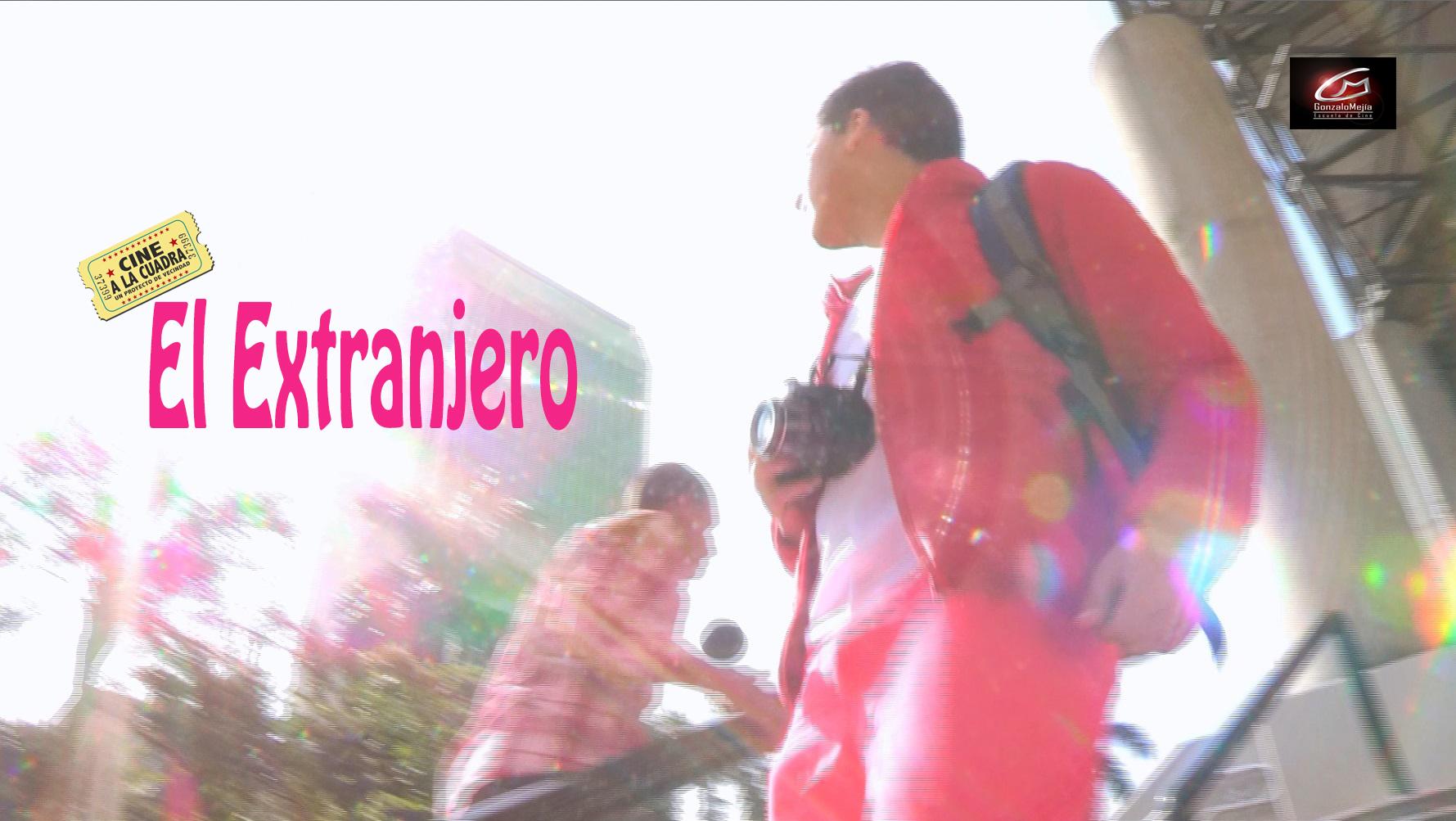 Prueba afiche de EL EXTRANJERO