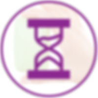 Extended Shelf Life Hourglass Icon