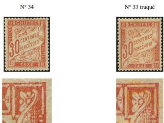 30 c Taxe Duval, n° 33 ou n° 34 ?