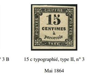 Chiffres-Taxe : 10 c et 15 c