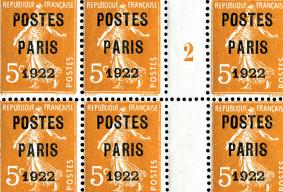 POSTES PARIS, POSTES FRANCE  -  100 ans et encore quelques mystères ...