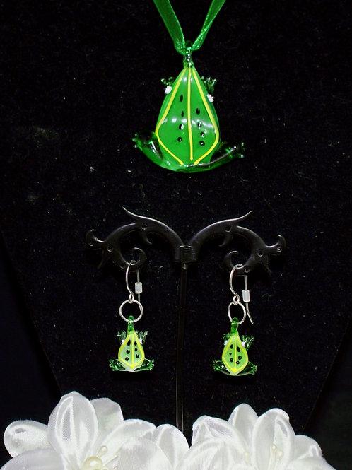 Green Frog Set