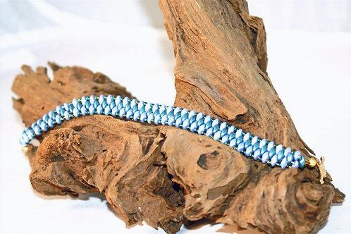 'Ocean' SuperDuo Bracelet