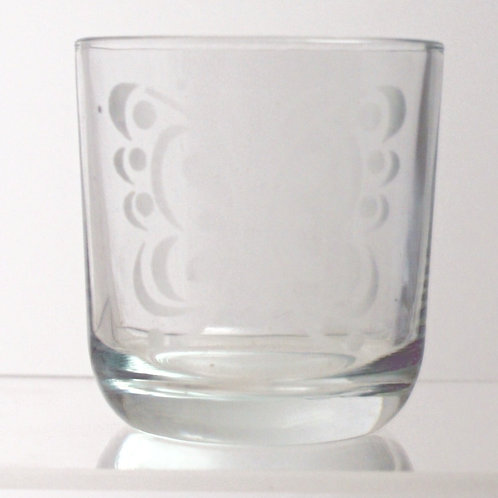 Butterfly Tumblers. Set of 6