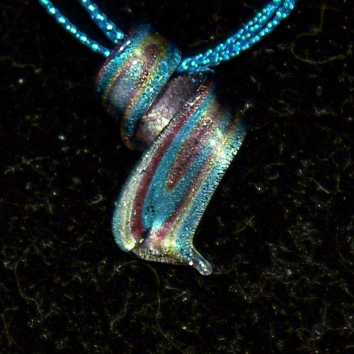 Small Flat Twisted PENDANT ONLY