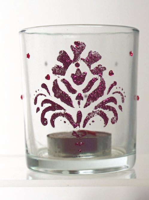 Red Wine Decorated Tumbler