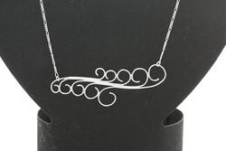 Graduating 'S' Necklace