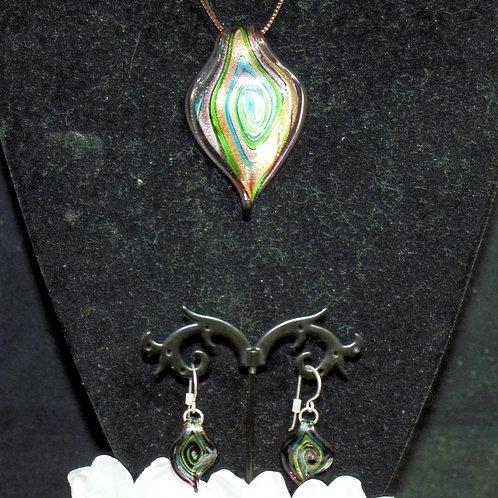 Aubergine 'Leaf' Set