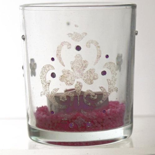 Red Wine Tealight Tumbler