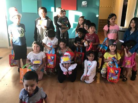 Caritas Residents Celebrate Dr.Seuss's Read Across America Day