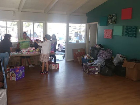 BahiaVillage Residents Donate Items to Victims of the Earthquake in Mexico