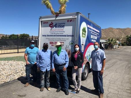 Seniors Receive Food Boxes from CAP-SBC