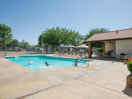 Summer Swim School Begins for 180 Residents