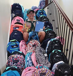 Shady Lane Backpack Donations.JPG