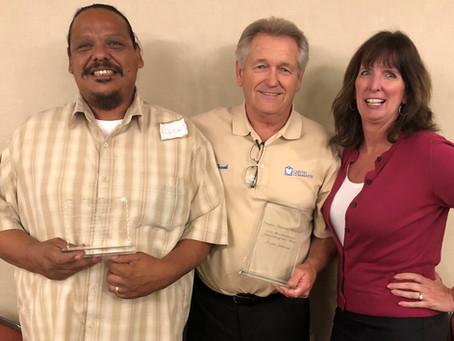 Congratulations Albert Andrade & Frank Johnson!