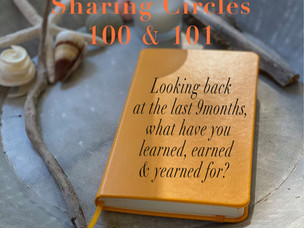Our 100th online sharing circle!