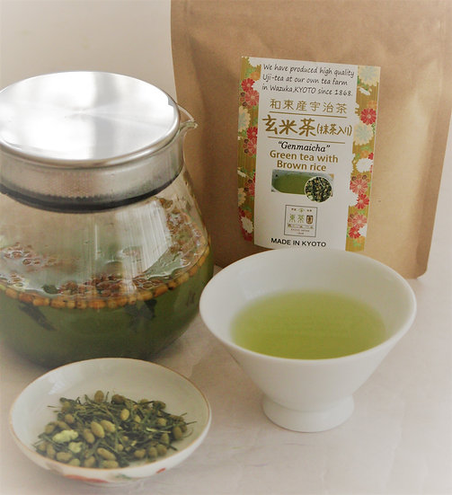 Genmai cha with Matcha / 抹茶入り玄米茶