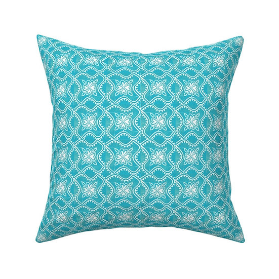 MAYAN TILE Print Pillow