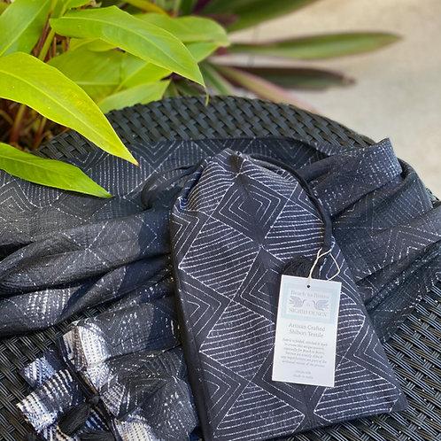 Shibori Scarf in a  Bag