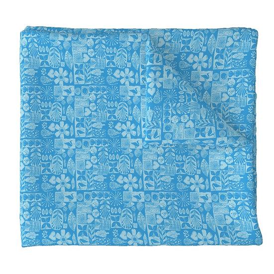 BEACH LIFE print fabric