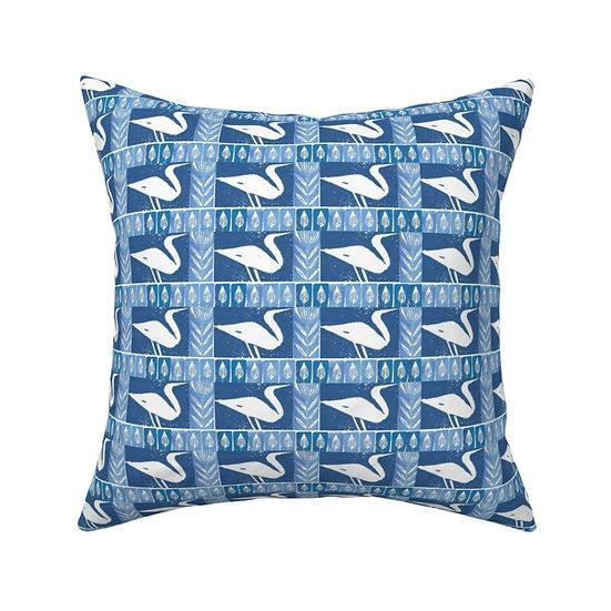 IMAGINE EGRETS Print Pillow