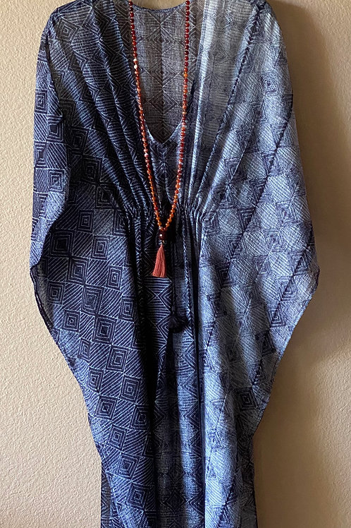 Athena- The Shibori Kaftan
