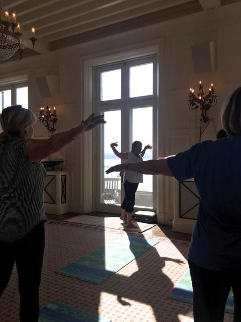 yoga with Martha