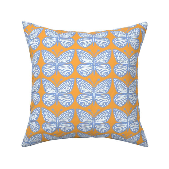 BUTTERFLY MAGIC Print Pillow