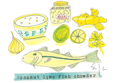 coconut lime fish