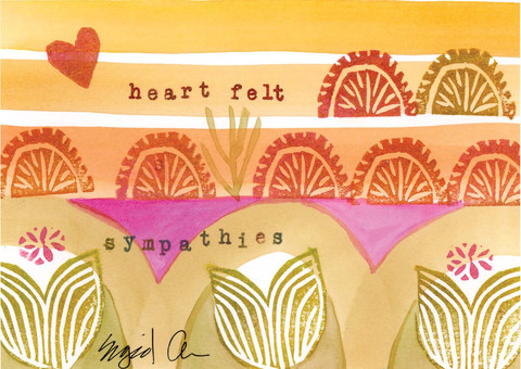heartfelt sympathies