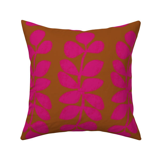 DANCING BRANCH print pillow