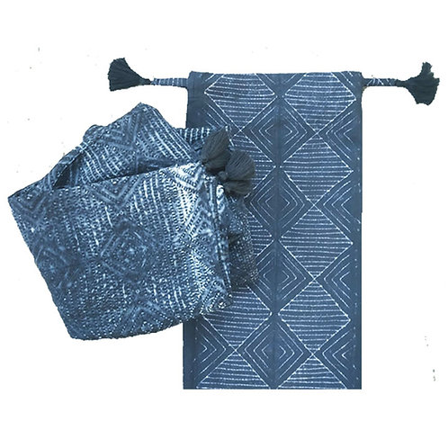 Shibori Scarf in a  Bag