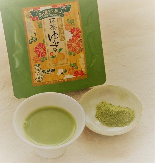 Matcha with Yuzu 抹茶ゆず
