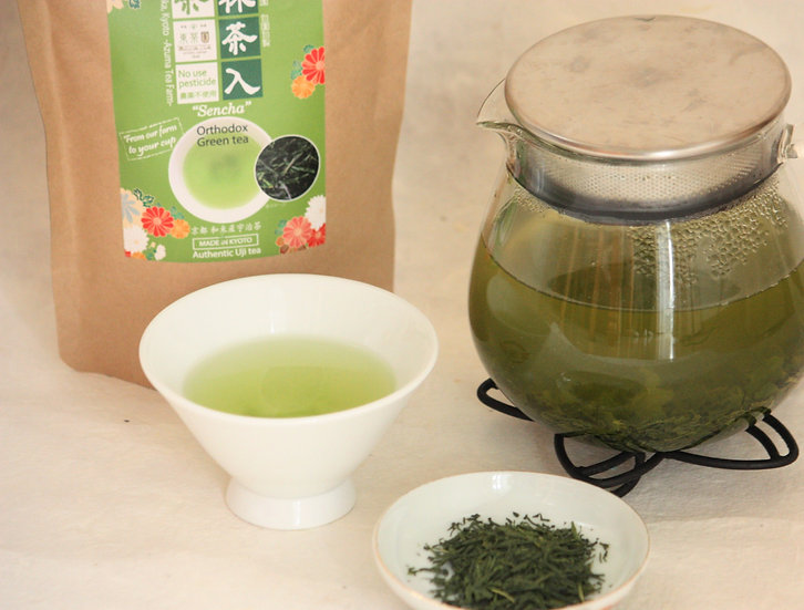 Sencha (w/matcha powder)