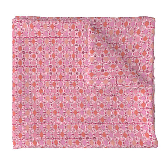DIAMOND TILE print fabric