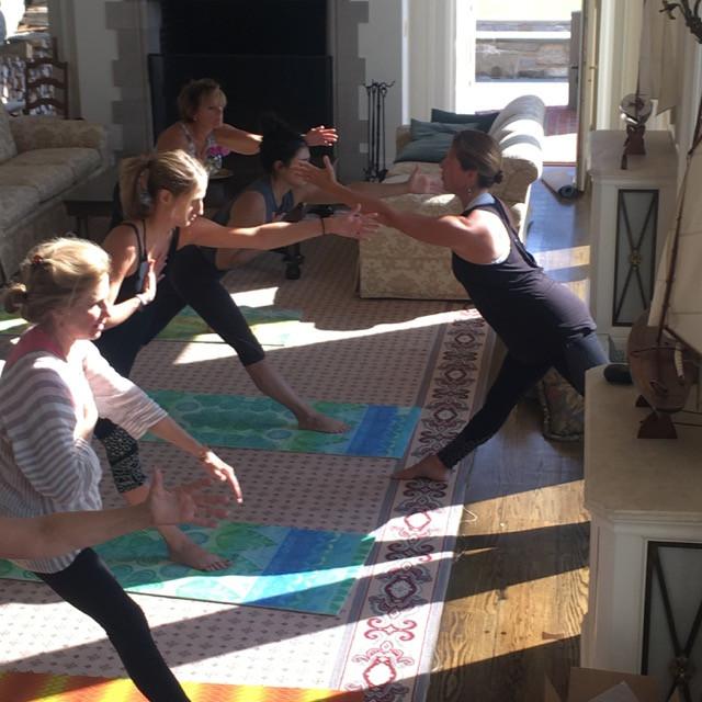 yoga with Jamie