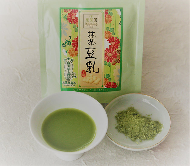 MatchaSoymilk 抹茶豆乳