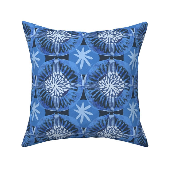 CIRCLE TIME print pillow
