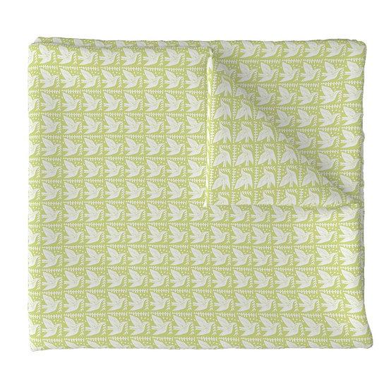 DOVE LOVE print fabric