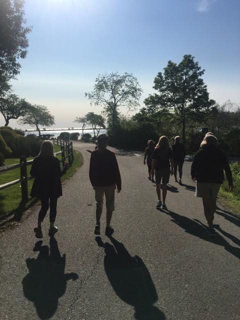 morning walk together