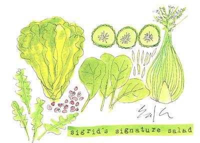 sigrid's signature salad