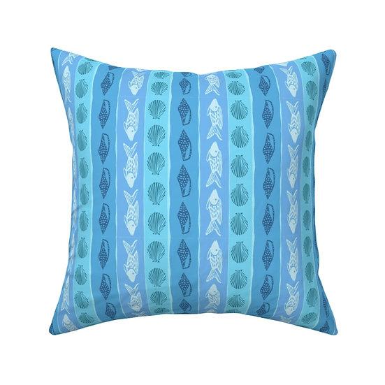 SEASIDE STRIPE Print Pillow
