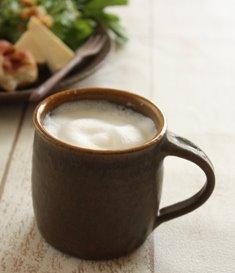 錆釉切立マグカップ