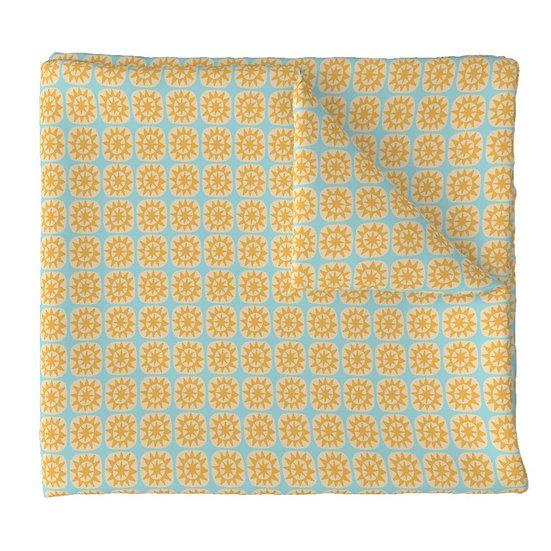 SUN BLOCK print fabric