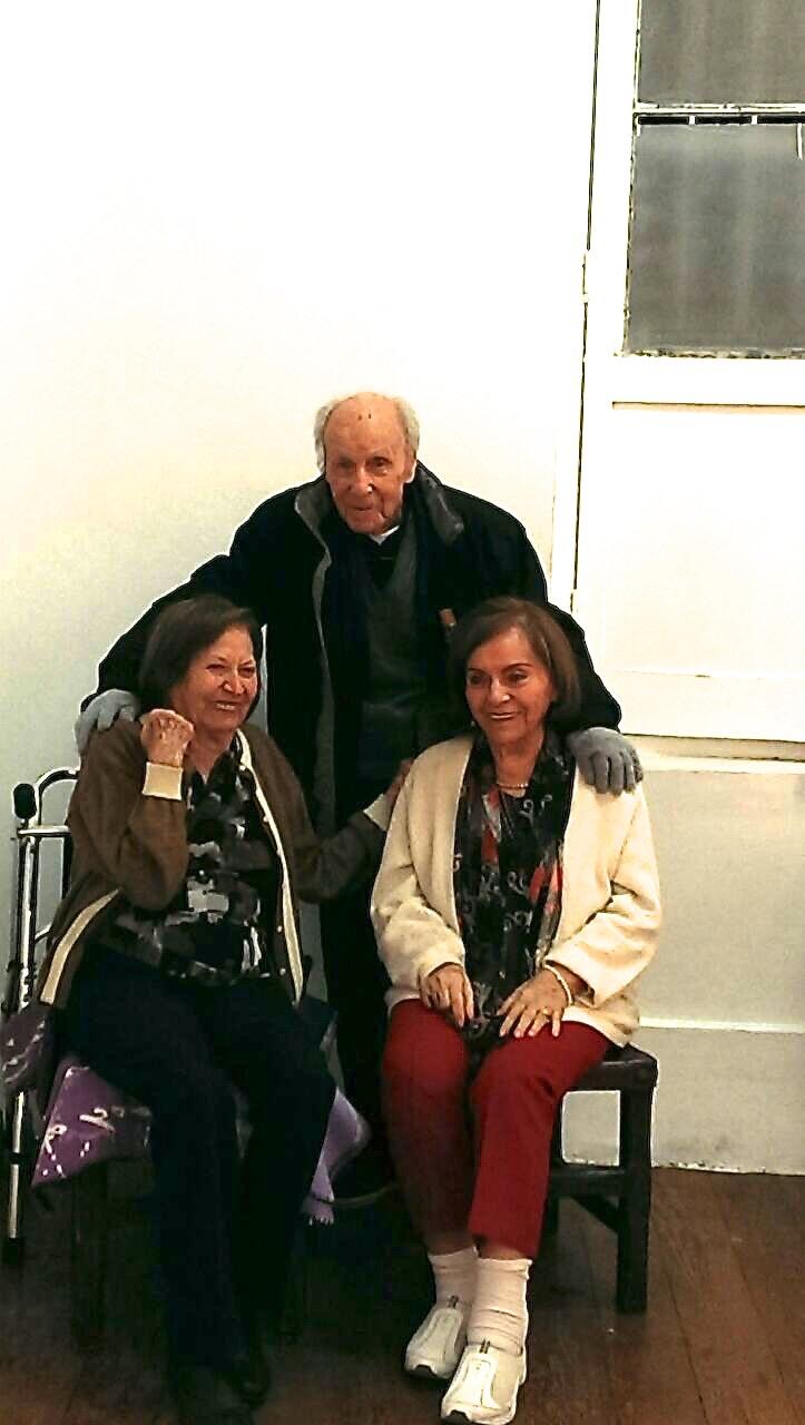Antonio, Maria Esther y Cristina