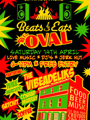 Beats & Eats @ The Oval